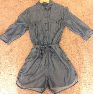 Denim Banana Republic Romper